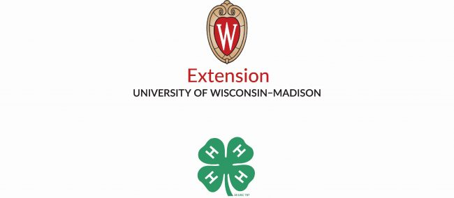 4-H and Extension Co Branding logo vertical