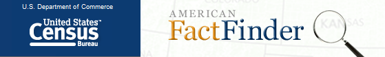 Am FactFinder US Census Bureau