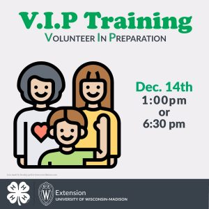 Volunteer in Preparation Training